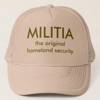 在郷軍、元の自国の保安 キャップ