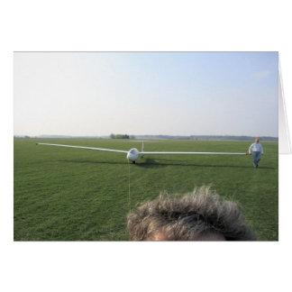 地上の牽引のグライダー カード