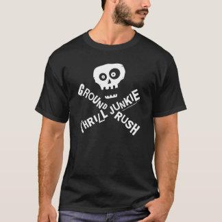 地上の突進のSkydiver Tシャツ