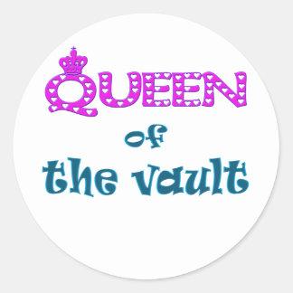 地下の女王 ラウンドシール