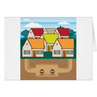 地下の隠れ家 カード