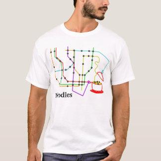 地下ヌードル Tシャツ