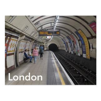 地下ロンドン-郵便はがき ポストカード