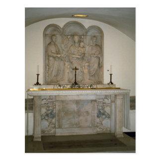 地下墓地の祭壇 ポストカード