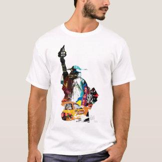 地下鉄のニューヨークシティのティー Tシャツ