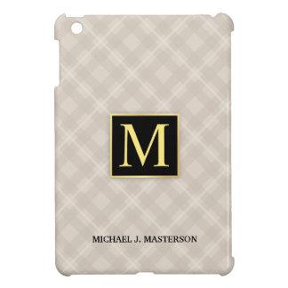 地下鉄のモダンな格子縞のモノグラムiPad Mini iPad Mini カバー