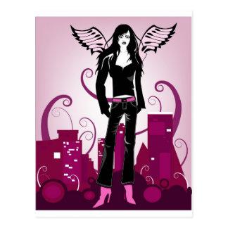 地下鉄の天使 ポストカード