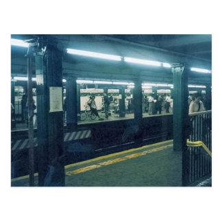 地下鉄の駅 ポストカード