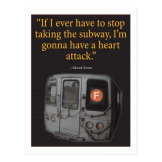 地下鉄 ポストカード