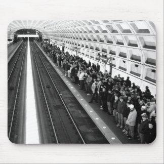 地下鉄B&Wのマウスパッド マウスパッド