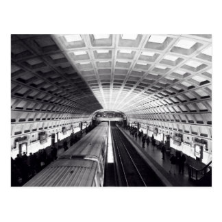 地下鉄DCの郵便はがき ポストカード