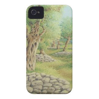 地中海のなオリーブ畑、スペインのiphone 4ケース Case-Mate iPhone 4 ケース