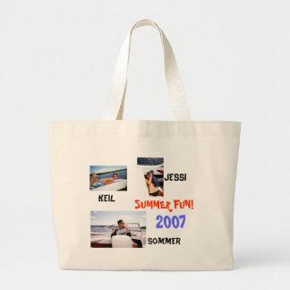 地中海クラブのビーチのバッグ ラージトートバッグ