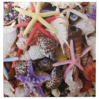 地中海貝 ナプキンクロス