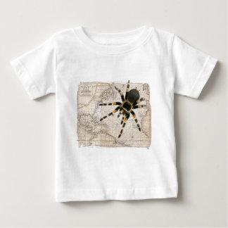 地図のくも ベビーTシャツ