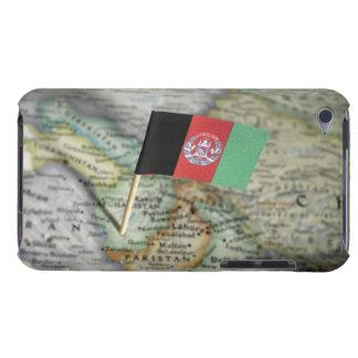 地図のアフガニスタンの旗 Case-Mate iPod TOUCH ケース
