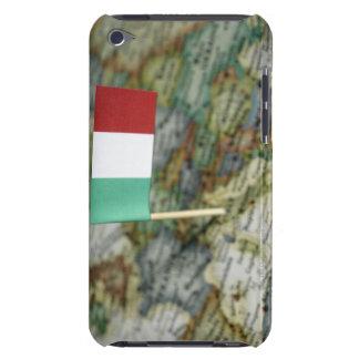地図のイタリアンな旗 Case-Mate iPod TOUCH ケース