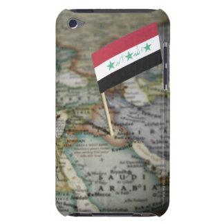 地図のイラクの旗 Case-Mate iPod TOUCH ケース
