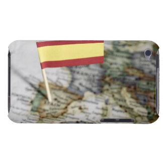 地図のスペインのな旗 Case-Mate iPod TOUCH ケース