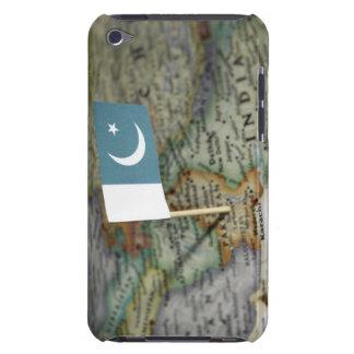 地図のパキスタンの旗 Case-Mate iPod TOUCH ケース
