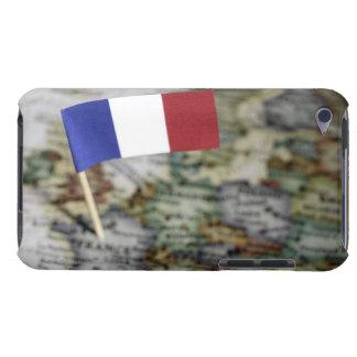 地図のフランスのな旗 Case-Mate iPod TOUCH ケース