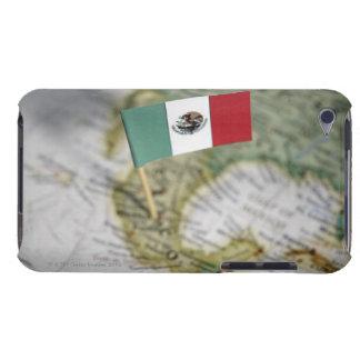 地図のメキシコ旗 Case-Mate iPod TOUCH ケース
