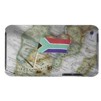 地図の南アフリカの旗 Case-Mate iPod TOUCH ケース