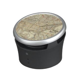 地図の大西洋の海岸ライン BLUETOOTH対応スピーカー