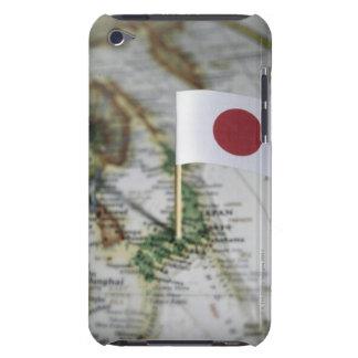 地図の日本のな旗 Case-Mate iPod TOUCH ケース