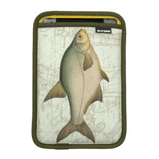 地図の淡水魚 iPad MINIスリーブ