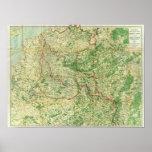 地図の西部戦線 ポスター