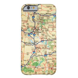 地図のiPhone 6/6sの場合 Barely There iPhone 6 ケース