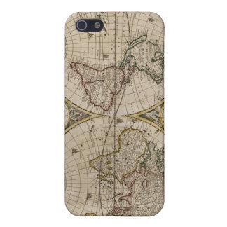地図のSpeckの古代場合 iPhone 5 ケース