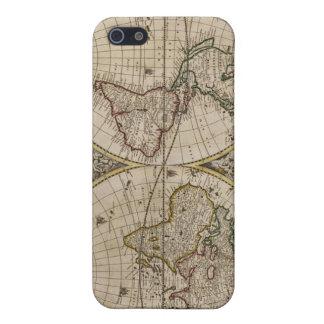地図のSpeckの古代場合 iPhone 5 Case