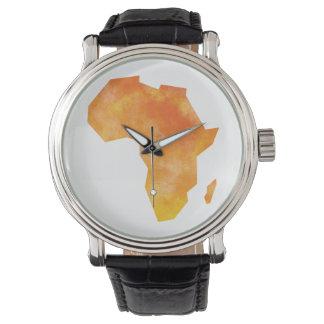 地図アフリカ ウォッチ