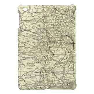 地図オハイオ州およびミシシッピーの鉄道 iPad MINIカバー