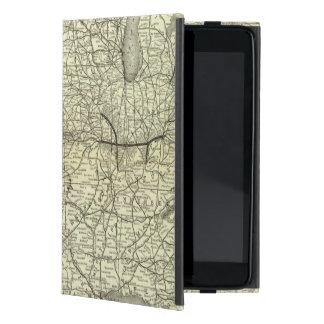 地図オハイオ州およびミシシッピーの鉄道 iPad MINI ケース
