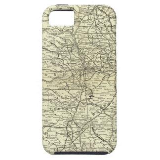 地図オハイオ州およびミシシッピーの鉄道 iPhone SE/5/5s ケース