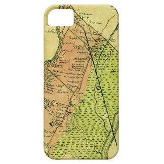 地図展覧会のコレクション: 手色 iPhone SE/5/5s ケース