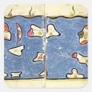 地図書からのインド洋、 スクエアシール