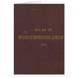 地図書Westchester Co、NY カード