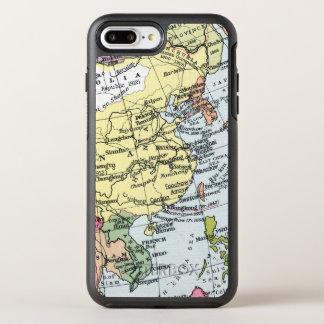 地図: アジアのヨーロッパ オッターボックスシンメトリーiPhone 8 PLUS/7 PLUSケース