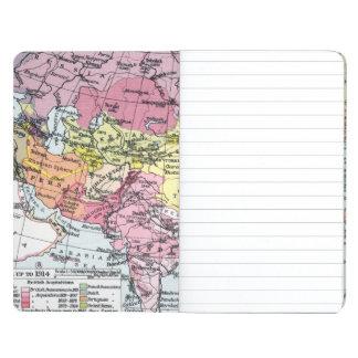 地図: アジアのヨーロッパ ポケットジャーナル