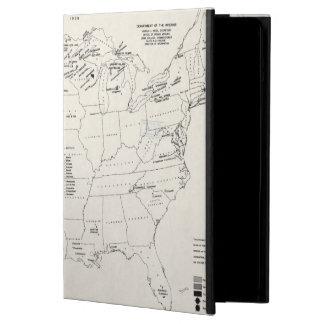 地図: アメリカインディアン2 iPad AIRケース