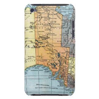 地図: オーストラリア、c1890 Case-Mate iPod touch ケース