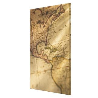 地図 キャンバスプリント