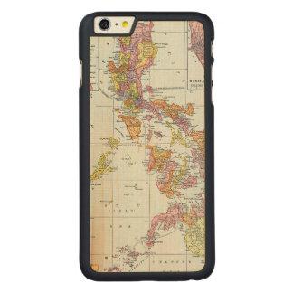 地図: フィリピン1905年 CarvedメープルiPhone 6 PLUS スリムケース