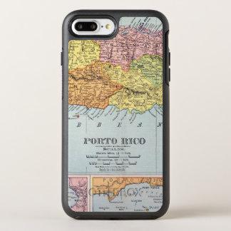 地図: プエルトリコ1900年 オッターボックスシンメトリーiPhone 8 PLUS/7 PLUSケース