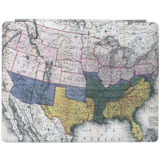地図: 内戦1864年 iPadスマートカバー