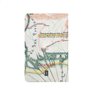 地図: 北アメリカ1742年 ポケットジャーナル